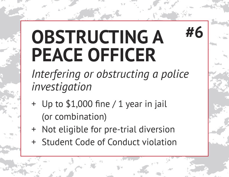 Obstructing a Peace Officer