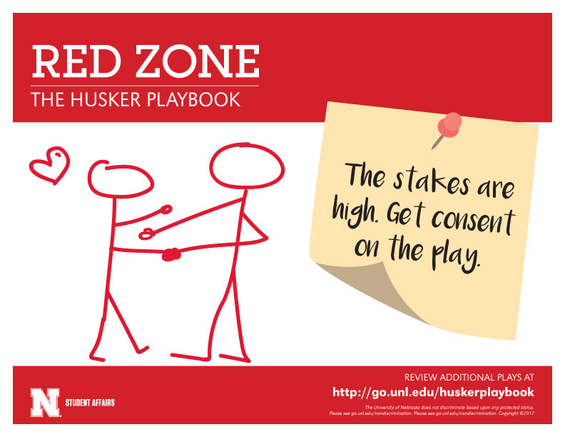 Red Zone - Don't commit a foul. Be sure consent is in your playbook.