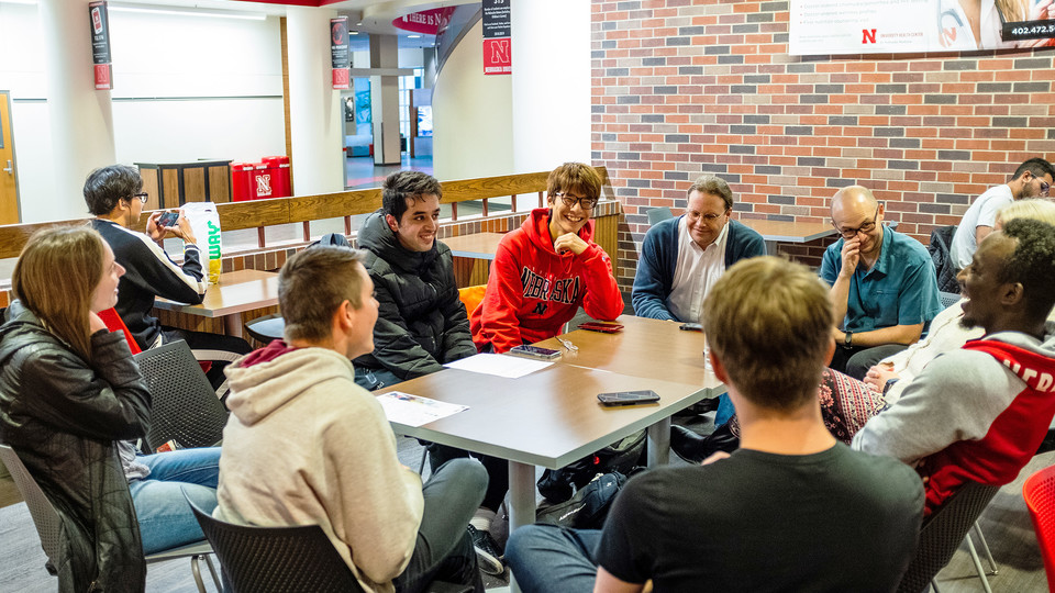 Coffee Talks bring together domestic, international students