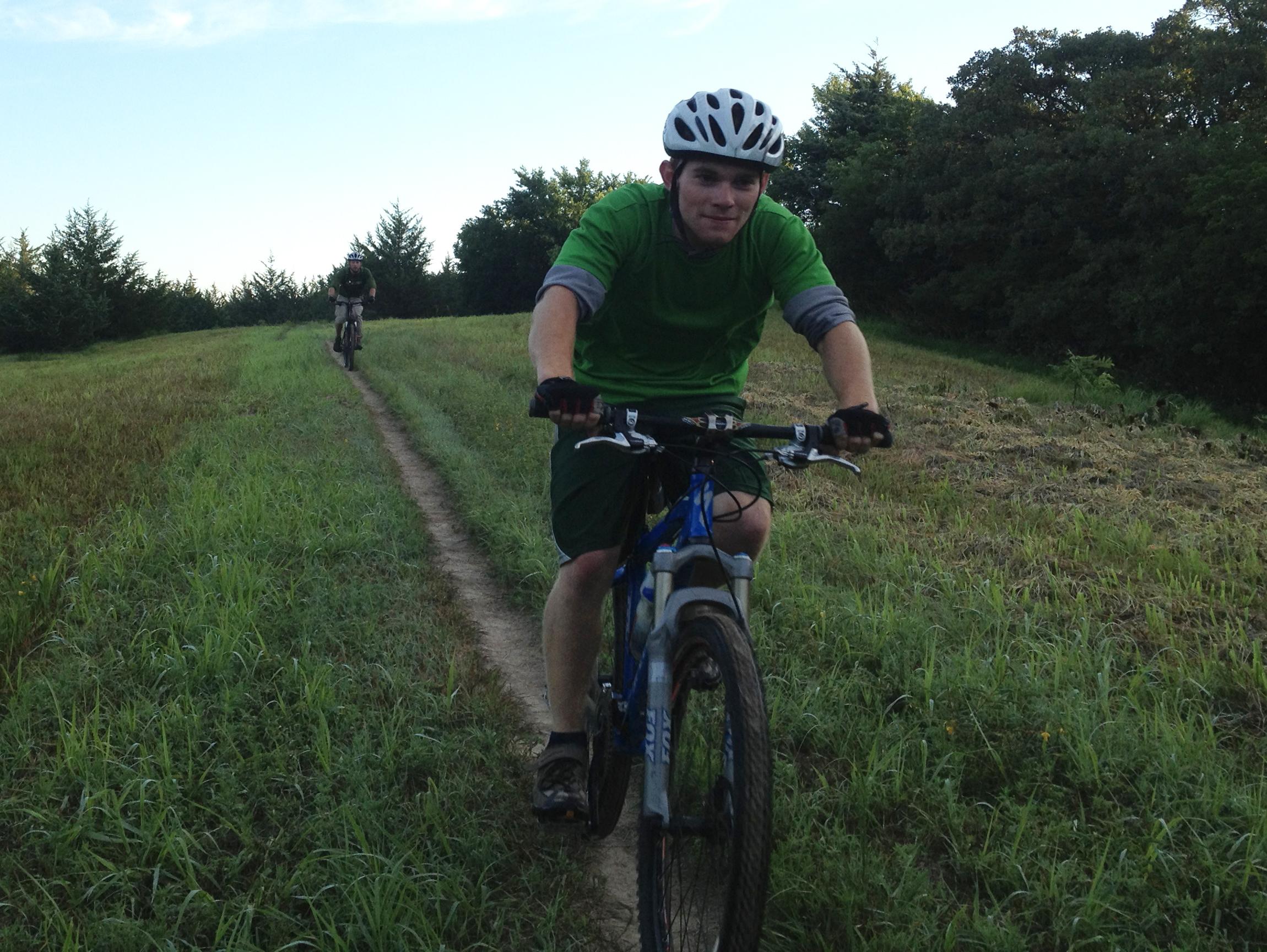 University of Nebraska–Lincoln's Outdoor Adventures Center is hosting Van Dorn Intro to Mountain Biking on March 16, 2021.