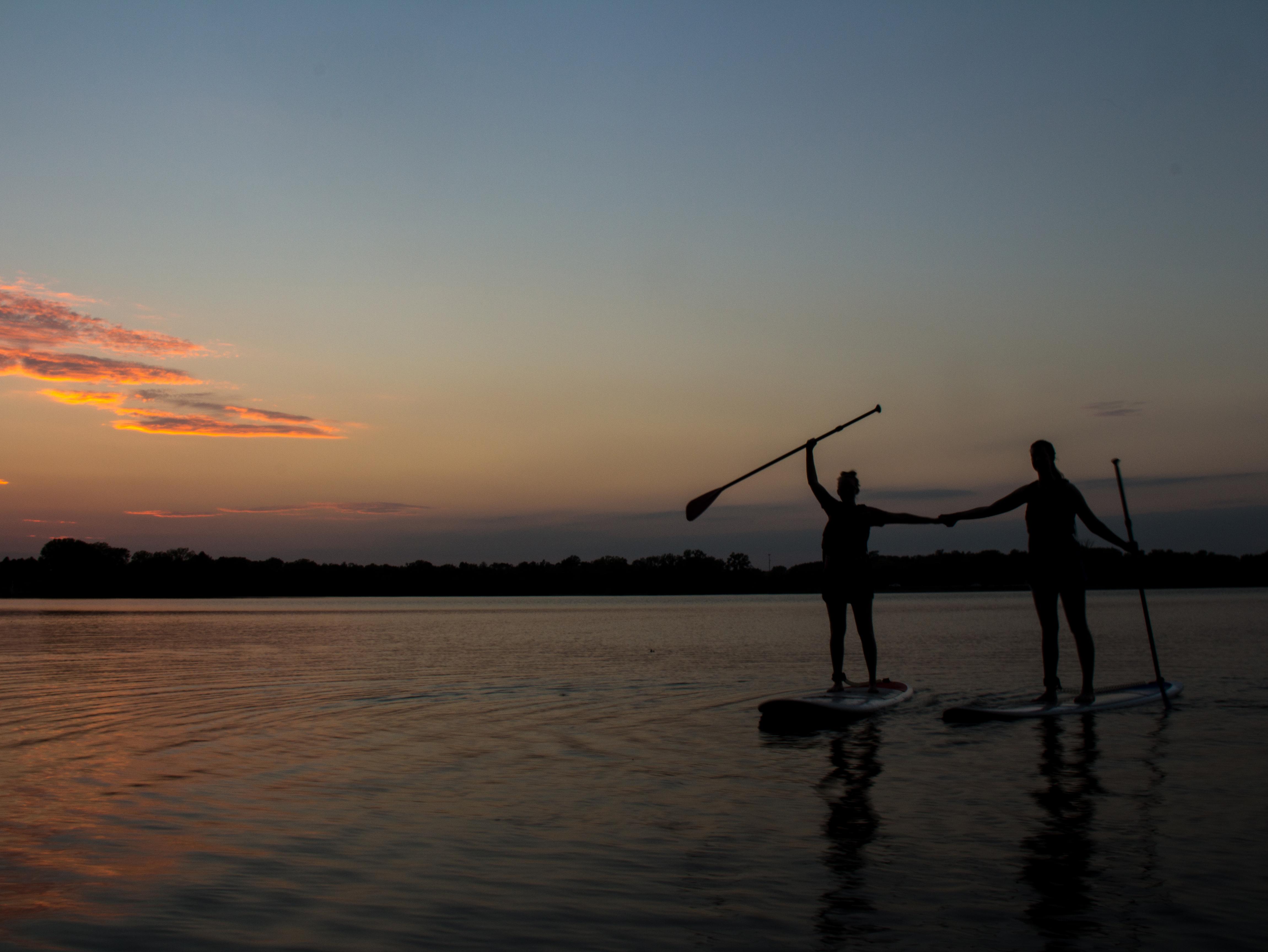 University of Nebraska-Lincoln students can enjoy a relxing evening of paddle board and kayaking on April 12 and April 26 with the Outdoor Adventures Center.