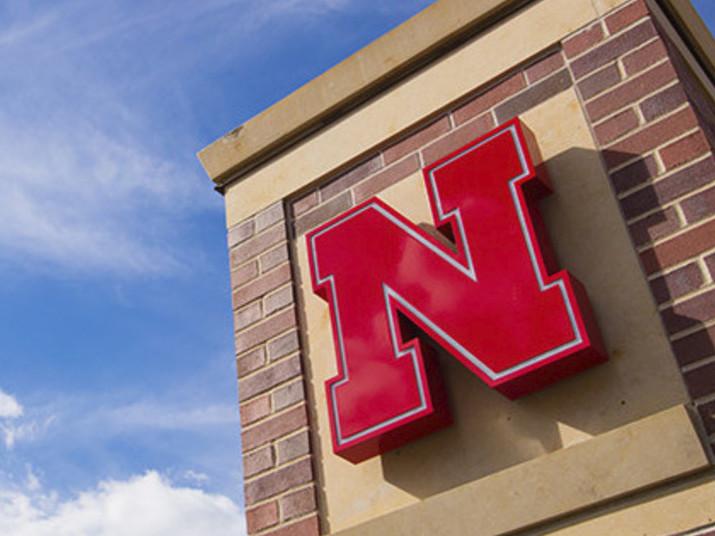 Campus gateway at the University of Nebraska-Lincoln.