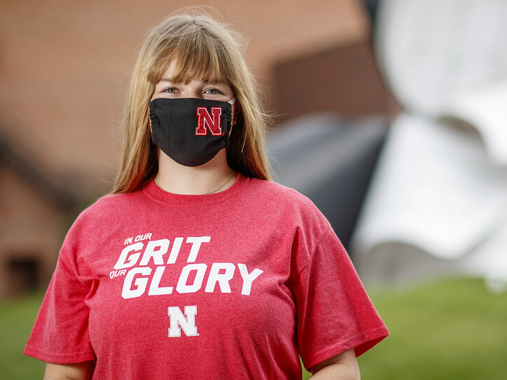 Roni Miller, president of the Association of Students of the University of Nebraska, student regent and senior political science/Spanish major
