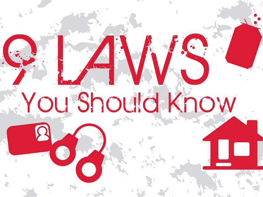 9 Laws You Should Know