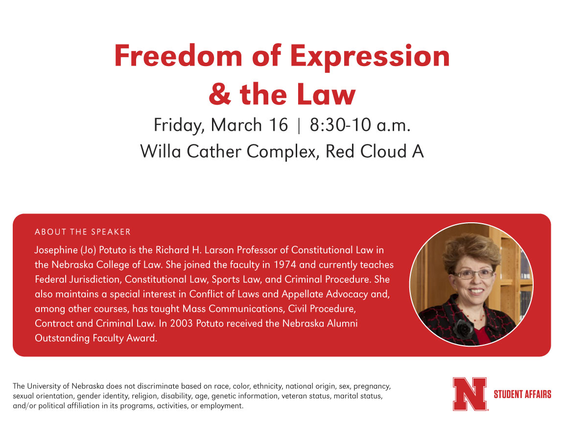 Freedom of Expression & the Law presentation