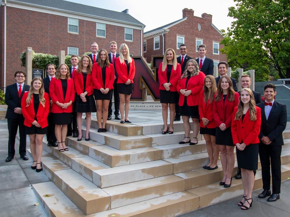 2021 Homecoming Royalty at University of Nebraska-Lincoln