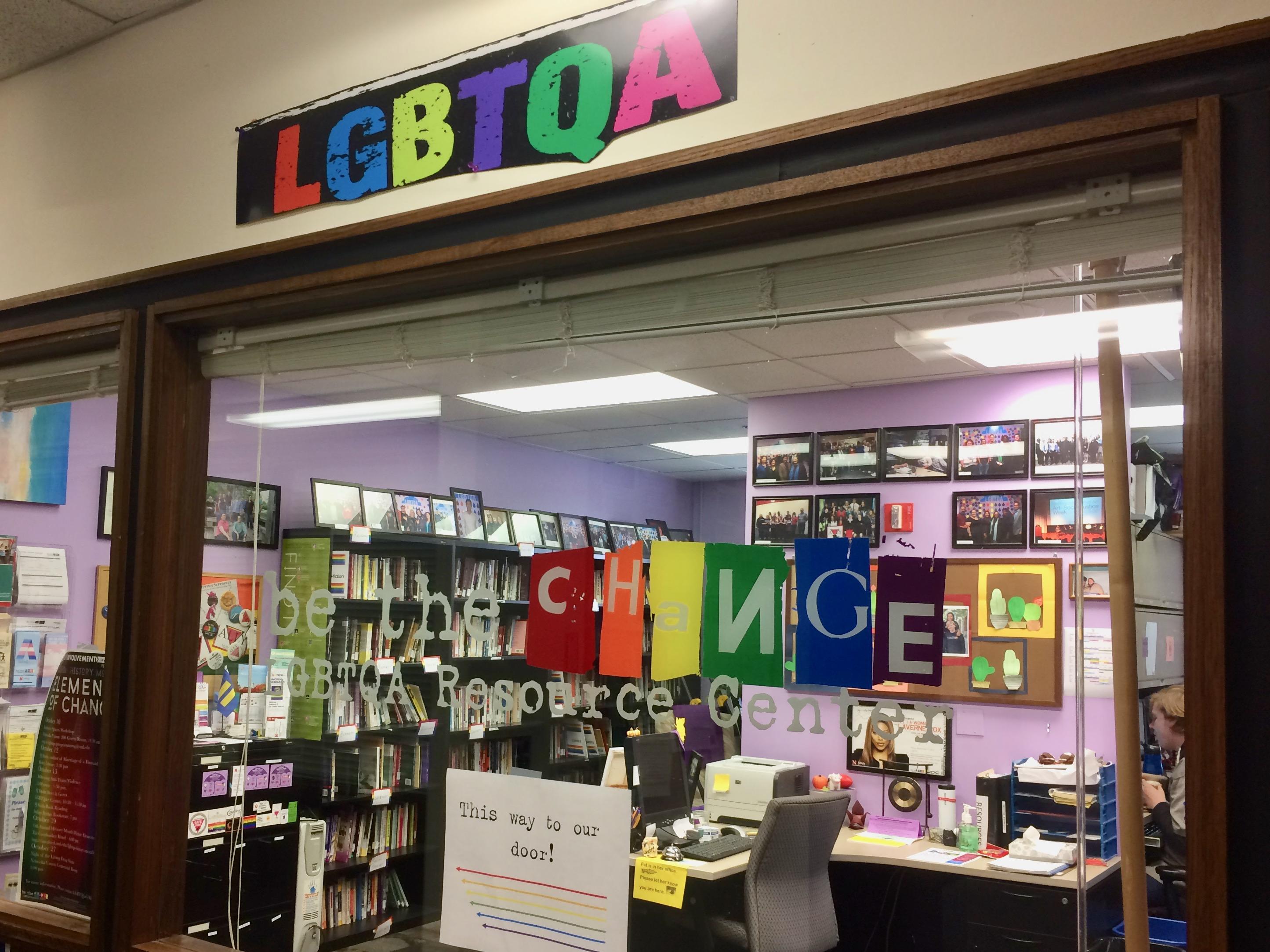 LGBTQA+ Resource Center at the University of Nebraska-Lincoln