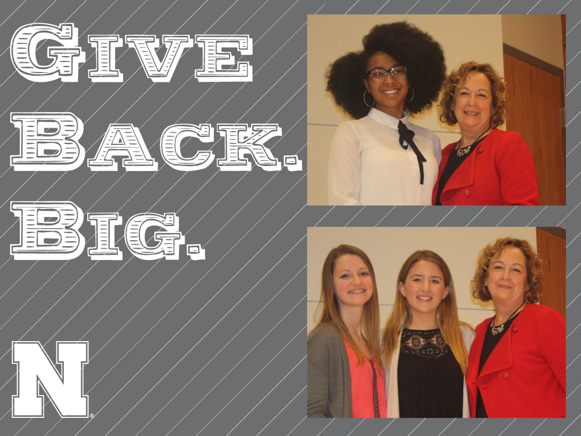 Give Back. Big. winners, fall 2017: Camp Kesem and Resilient Women