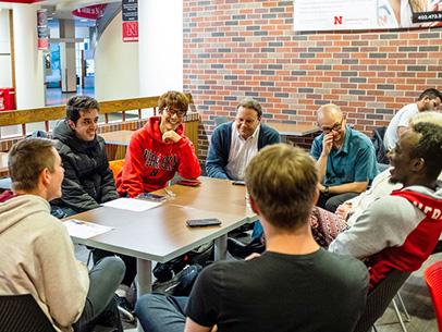 Coffee Talks meet Mondays and Thursdays at 3:30 p.m. in the Nebraska Union.
