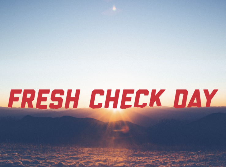Fresh Check Day is March 10, 2021. Big Red Resilience and Well-being will have Instagram activities from 10 a.m. to 12 p.m. CST.