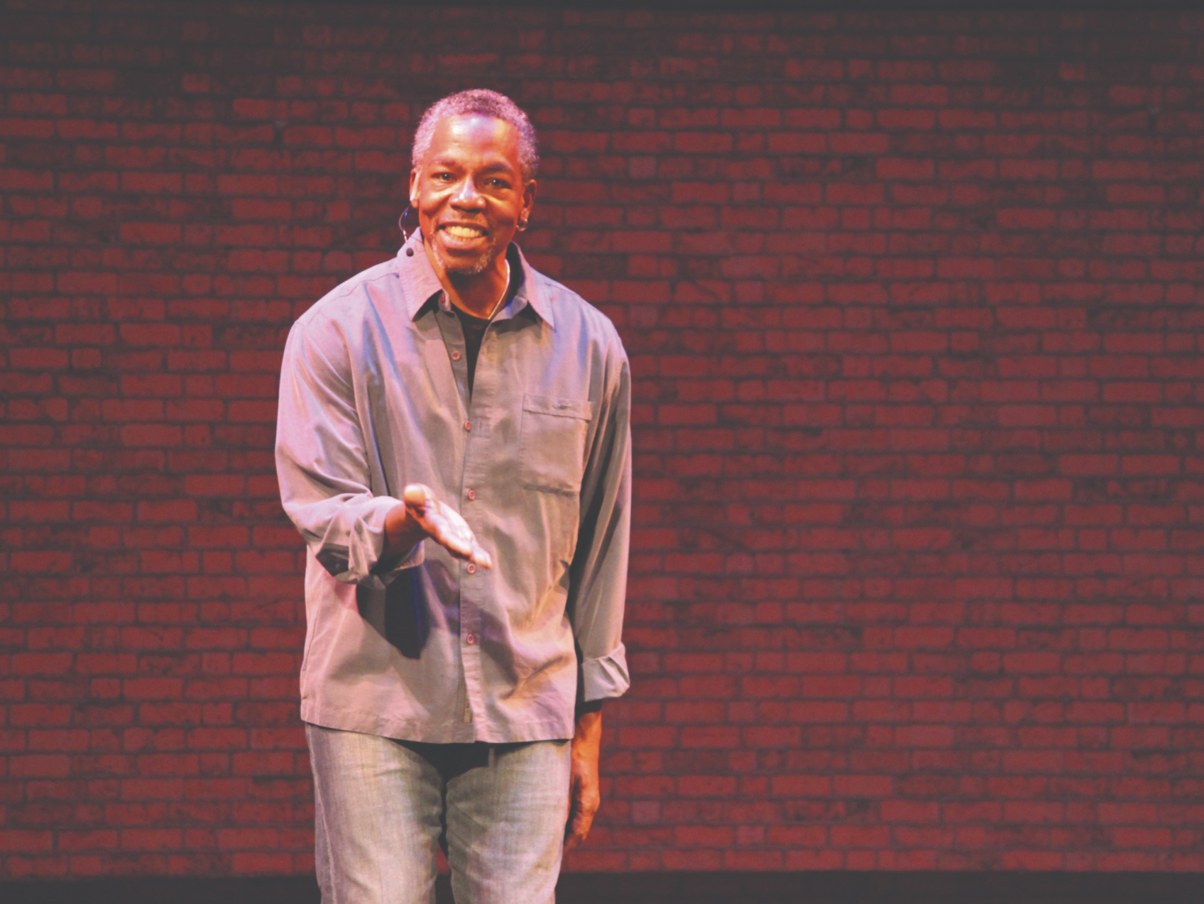 """Writer and actor Leland Gantt will present his inspiring """"Rhapsody in Black"""" as part of the Lied Center's MOSAIC Series."""