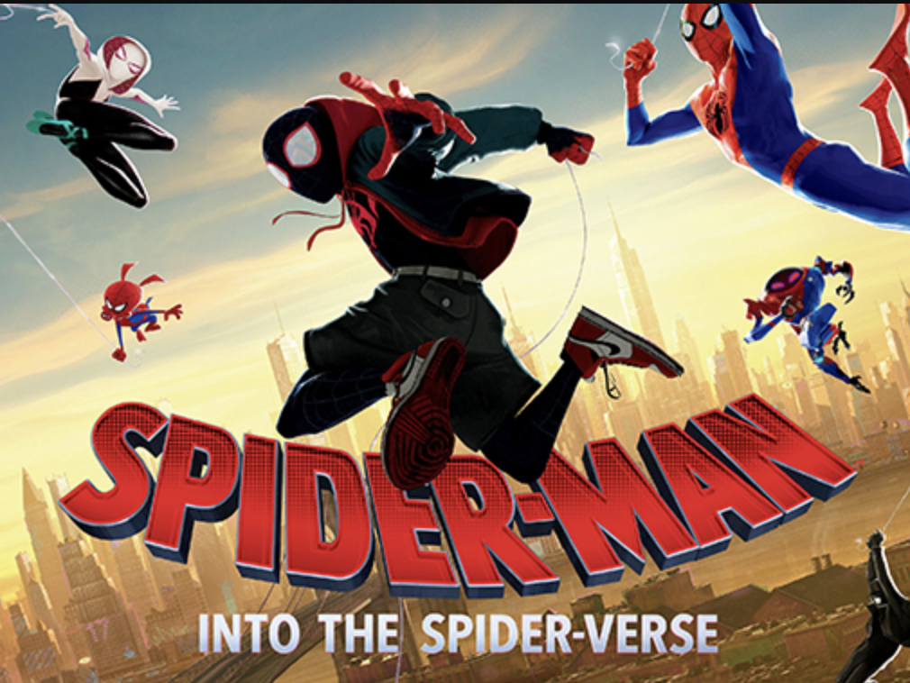 """The Residence Hall Association at the University of Nebraska-Lincoln is hosting an outdoor screening of the film """"Spider-Man: Into the Spider-Verse"""" on March 27, 2021."""