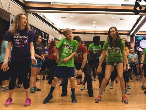 Dance Marathon benefits the Children's Miracle Network Hospitals. Photo: Intrepid Visuals LLC