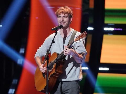 """""""The Voice"""" contestant and Lincoln native Sam Stacy will perform as part of Lied Live Online Series on May 9, 2021."""