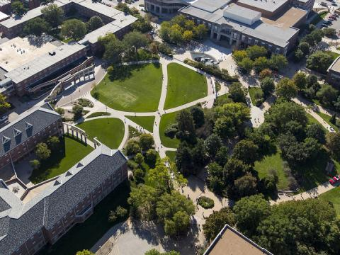 University of Nebraska-Lincoln aerial photo