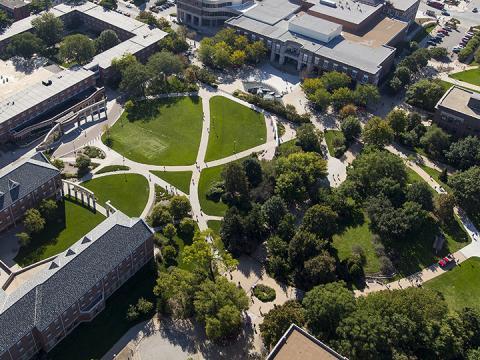 Aerial of University of Nebraska-Lincoln