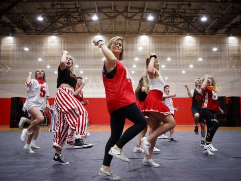 Huskers perform in the Homecoming talent show, Sept. 24, 2018. UPC Nebraska will host the third annual Huskers Got Talent competition April 25.