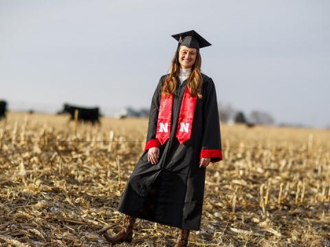Natalie Jones, a fifth-generation Nebraska rancher and third-generation University of Nebraska-Lincoln grad, will start her next chapter from an office in Agricultural Hall as a media specialist.
