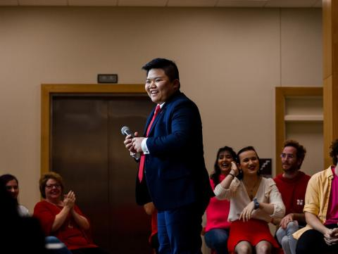During his We Are Nebraska performances last year, Kennedy Nguyen spoke on his life experience as a transgender male.
