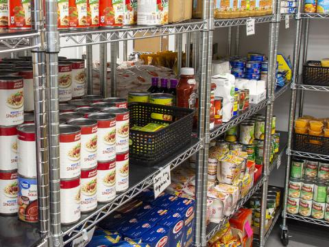 Husker Pantry relies on donations to keep its shelves stocked and the weekly pick-up bags filled so students do not suffer from hunger. 100% of donations benefit UNL students.