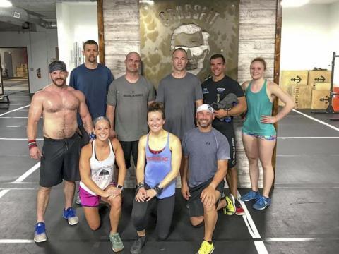 CrossFit participants at Campus Recreation at Nebraska