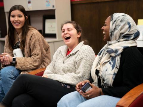 Freshman Campus Leadership Associates meet inside of the Nebraska Union on Wednesday, Dec. 4, 2019, in Lincoln, Nebraska. | Daily Nebraskan