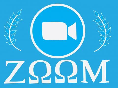 Zoom in Greek letters