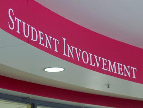 Student Involvement is headquartered in Room 200 of the Nebraska Union.