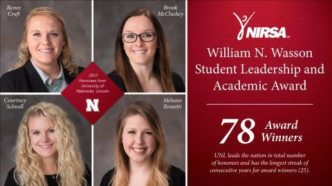 Nebraska 2017 Wasson Award Winners