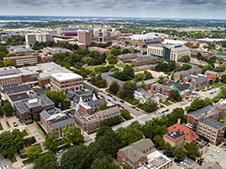 Aerial image of the University of Nebraska-Lincoln