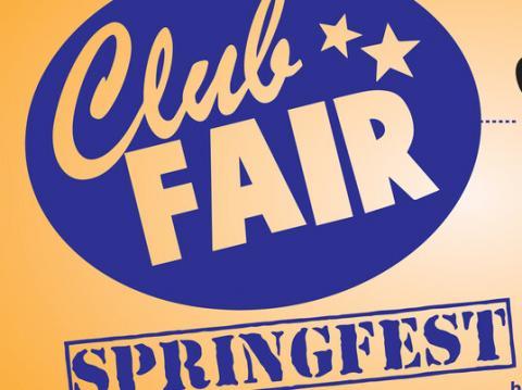 Club Fair Springfest graphic