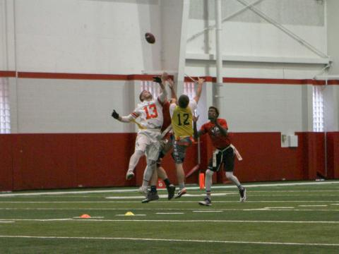NIRSA regional flag football tournament at University of Nebraska