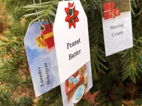 Giving tree tags