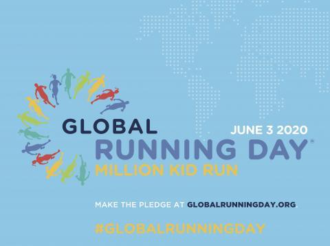 Artwork for Global Running Day 2020 globalrunningday.org