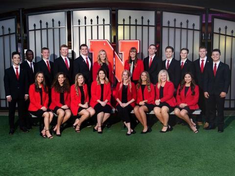 2019 homecoming roylaty at the Univesity of Nebraska-Lincoln.