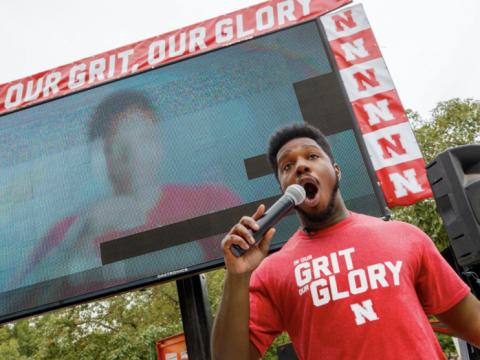 DJ DeWayne will lead an online karaoke and dance night event for all Huskers on April 25.