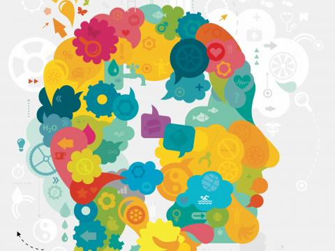 Mental Wellness stock image