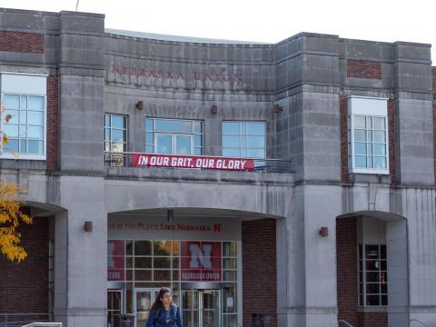 The Nebraska Union on 1400 R St. on Tuesday, Oct. 22, 2019, in Lincoln, Nebraska.