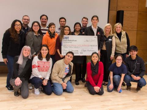 Winners of Pitch A Program at the University of Nebraska-Lincoln