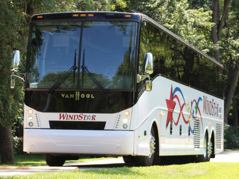 Shuttle busses will transport students from East Campus to the Big Red Welcome events on City Campus.