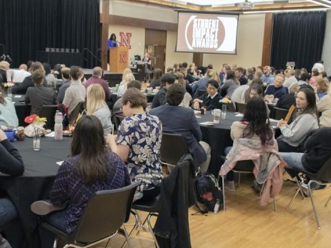 Student Impact Awards 2019 at Nebraska