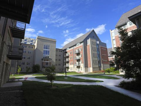 The Village is an apartment-style housing complex on the campus of the University of Nebraska-Lincoln.
