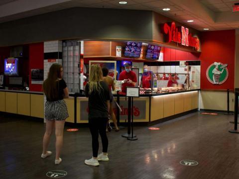 The Nebraska Union food court is pictured on Wednesday, Sept. 16, 2020, in Lincoln, Nebraska. Photo by Grace Kovar   Daily Nebraskan