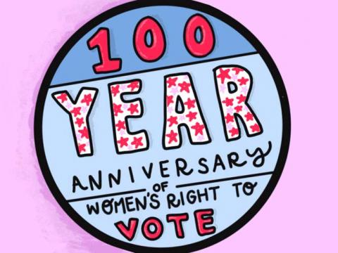 100 Year Anniversary of Women's Right to Vote