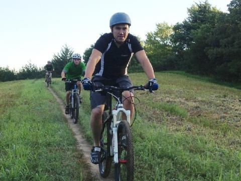 Branched Oak Bike Ride with UNL Outdoor Adventures.