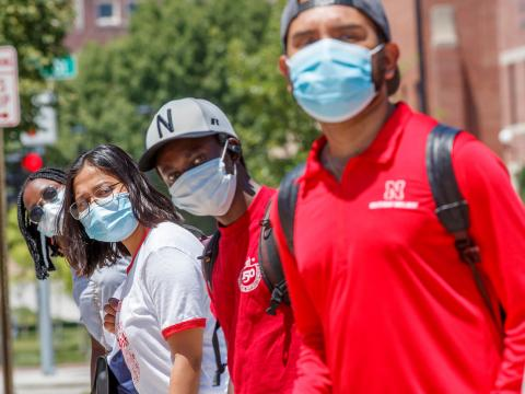 Medical staff at the University Health Center advise students to thoroughly wash and dry their face coverings after every use.