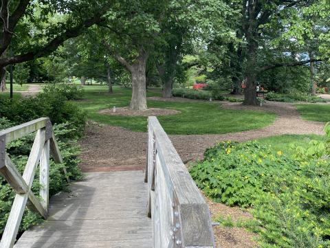 Maxwell Arboretum [Brittany Meiners | Student Affairs]