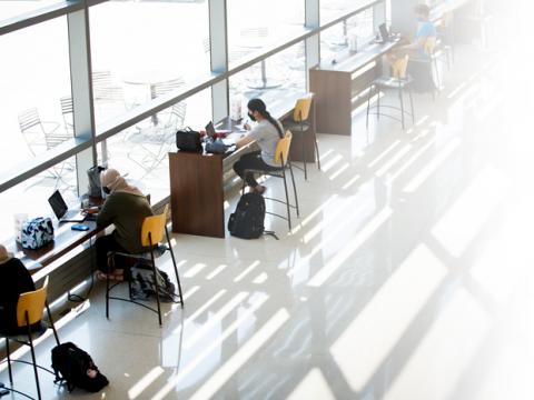 Classes are remote during the three-week sessions, yet on-campus spots remain open for the benefit of students.